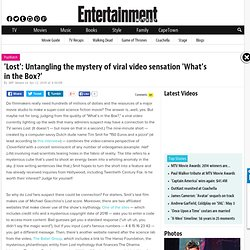 'Lost': Untangling the mystery of viral video sensation 'What's