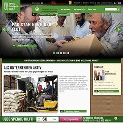Unternehmen - Welthungerhilfe