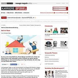 Inhouse Consulting: Interne Unternehmensberatung immer beliebter