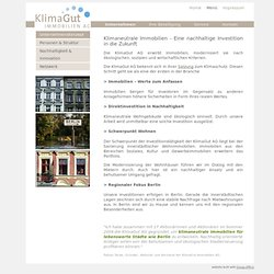 Home- KlimaGut Immobilien AG