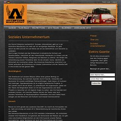 Soziales Unternehmertum | Adventure Manufactory