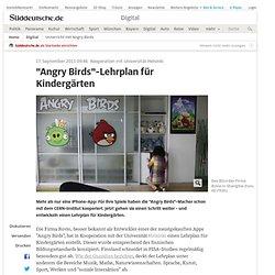 Unterricht mit Angry Birds - Digital