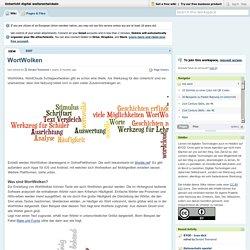 Unterricht digital weiterentwickeln [licensed for non-commercial use only] / WortWolken