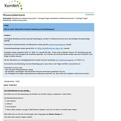 KomNet Dialog: Bestellung und Beauftragung?