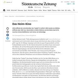 Unterschleißheim - Das Heim-Kino - Landkreis München