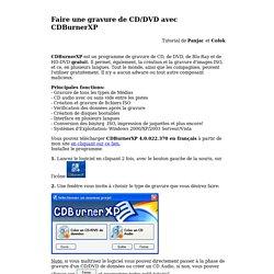 Tuto 2 CDBurnerXP