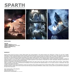 Sparth > Concept design & visual development