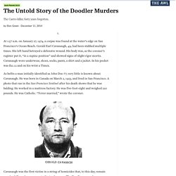The Untold Story of the Doodler Murders