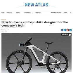 Bosch unveils concept ebike designed for the company's tech