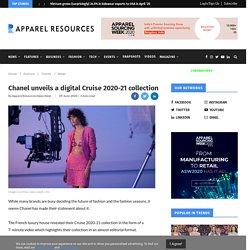 Chanel unveils a digital Cruise 2020-21 collection