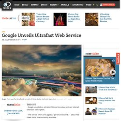 Google Unveils Ultrafast Web Service