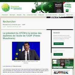 UOIF – Observatoire de l'islamisation