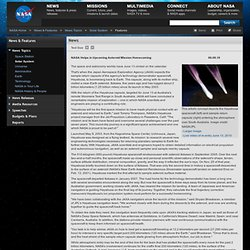 NASA Helps Asteroid Mission