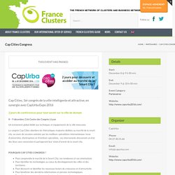 Upcoming Events – Cap Cities Congress – France Clusters