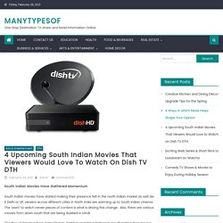 4 Upcoming South Indian Movies That Viewers Would Love to Watch on Dish TV DTH