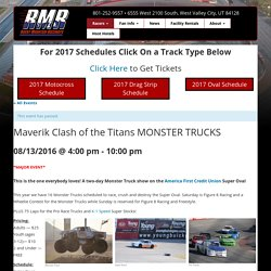 Rocky Mountain Raceways-Drag Racing, Motocross Racing, Oval Racing in Salt Lake, Utah