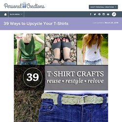 39 Ways to Upcycle Your T-Shirts - Personal Creations Blog