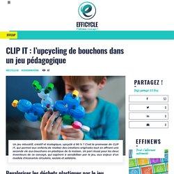 CLIP IT : l'upcycling de bouchons dans un jeu pédagogique