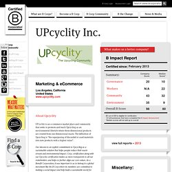 UPcyclity Inc.