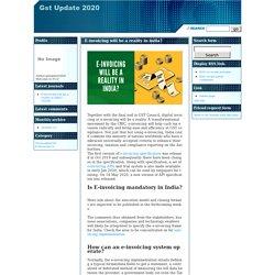 E-invoicing in india