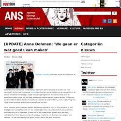 [UPDATE] Anne Dohmen: 'We gaan er wat goeds van maken'