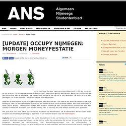 Minimale opkomst Occupy Nijmegen