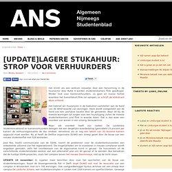 ANS: Lagere stukahuur: strop voor verhuurders