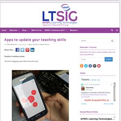 Apps to update your teaching skills