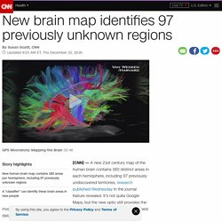 Updated brain map identifies 97 new areas