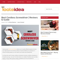 [Updated] Best Cordless Screwdriver