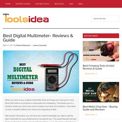 [Updated] Best Digital Multimeter