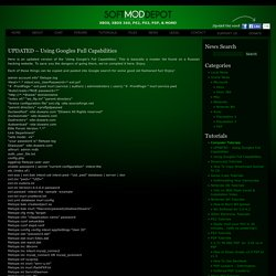 UPDATED – Using Googles Full Capabilities « XBOX, XBOX 360, PS2, PS3, PSP, & MORE! – Your source for the latest in console modding.