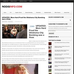 UPDATED: More Hard Proof the Oklahoma City Bombing was a Hoax - NODISINFO
