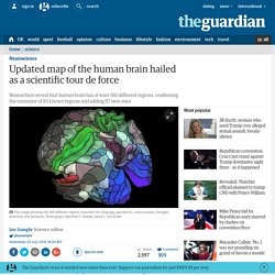 Updated map of the human brain hailed as a scientific tour de force