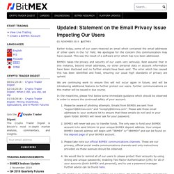 Updated: Statement on the Email Privacy Issue Impacting Our Users