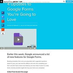 #GoogleForms updates that are a total #GameChanger for the #k12 world! #EdTech #gcsk12 #NCITF #GAfE