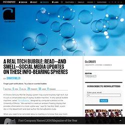 Social Media Updates On These Info-Bearing Spheres
