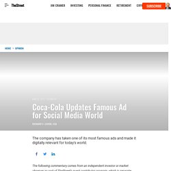 Coca-Cola Updates Famous Ad for Social Media World