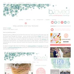 bijoux bride | small but perfectly formed | UK wedding blog