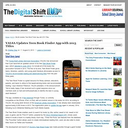 YALSA Updates Teen Book Finder App with 2013 Titles