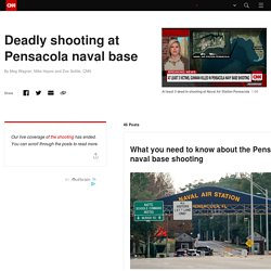 Live updates: Deadly shooting at Pensacola naval base