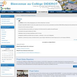 UPE2A » Collège Diderot