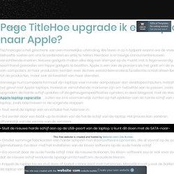 Start iPad pro op een eenvoudige en snelle manier