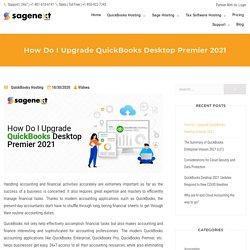 How Do I Upgrade QuickBooks Desktop Premier 2021?