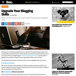 Upgrade Your Blogging Skills