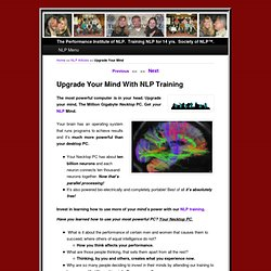 Upgrade Your Mind With NLP Training