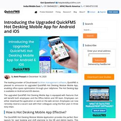Upgraded QuickFMS Hot Desking Mobile App for Android and iOS