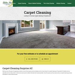 information carpet cleaners surprise az