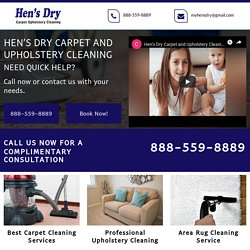 Hen's Dry Carpet and Upholstery Cleaning services Hemet CA