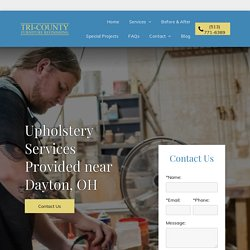 Upholstery Services for Dayton, OH